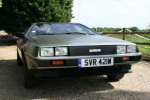 DeLorean DMC-12,Only 7,000 miles,Recent £15,000 refurbishment