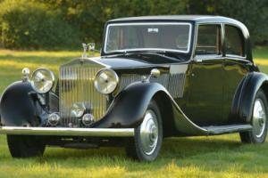 1935 Rolls Royce Phantom II Continental sports Saloon.