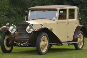 1928 Rolls Royce 20hp Park Ward Faux Cabriolet.