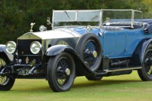 1922 Rolls Royce Silver Ghost open tourer.