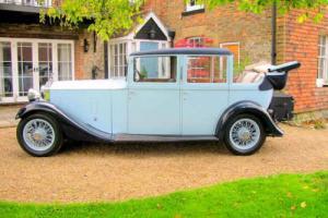 1934 Rolls Royce 20 /25 Landaulette by Barker