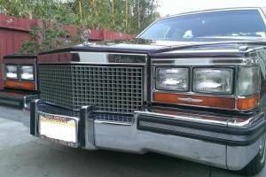 Cadillac : Brougham 4 door