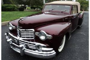 Lincoln : Continental ONE OF 730