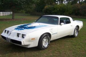 Pontiac : Trans Am blue