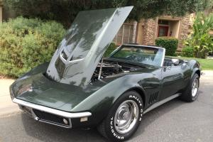 Rebuilt and restored 68 Corvette convertible 427