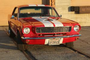 1966 Mustang GT350  Pony int, AC,power steering