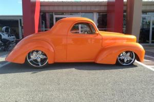 "41 Willy 22"" Foose LS2 Airride Hotrod street rod custom"