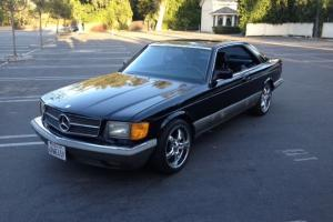 Mercedes-Benz : 500-Series black