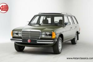 FOR SALE: Mercedes-Benz 300TD estate touring 1982 W123