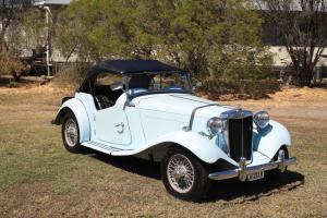 MG TD MK 1 1950 in Garah, NSW