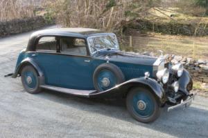 1935 Rolls-Royce 20/25 Park Ward Saloon GHG20 Photo