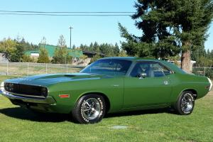 1970 Challenger 340 Scat Pack A66 code