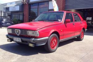 Alfa Romeo Giulietta 1 8 1982 4D Sedan 5 SP Manual 1 8L Twin Carb in Gladstone Park, VIC