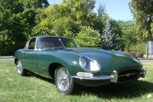 Jaguar : E-Type Open Two Seater