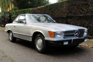 1985 C MERCEDES-BENZ SL 280 CONVERTIBLE