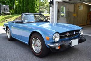 Triumph : TR-6 2-door Photo