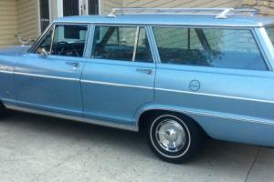 Chevy II,Wagon  35,350 Original miles
