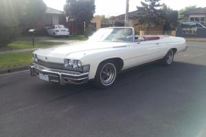 Buick LE Sabre 1974 Convertible RHD NOT Chevrolet Cadillac Pontiac Holden Dodge in Sunshine West, VIC