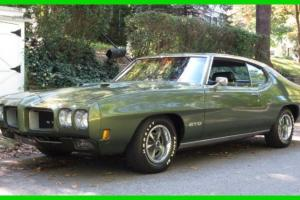 Pontiac : GTO Manual Great Condition- Original Matching Numbers-