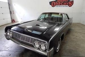 Lincoln : Continental RunsDrivesBodyInterGoodMinorResto430V8FactrAC