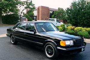 "Mercedes-Benz : 500-Series 560 SEL ""AMG STYLE"" SEDAN"