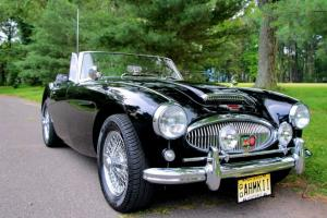 An unrestored original big Healey in Great Condition.