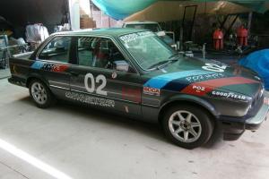 Racing CAR History BMW E30 325IS Driven Signed Jack Brabham Built AKG USA