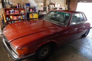 Mercedes Benz 450 SLC 1977 2D Coupe 3 SP Automatic 4 5L Electronic