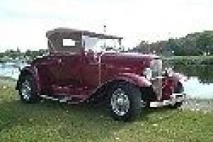 Ford : Model A Convertible