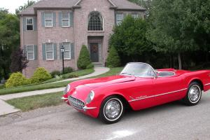 Chevrolet : Corvette 1955 Corvette 1 of 180 Red Roadster