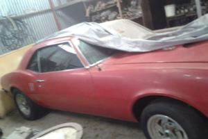 Pontiac Firebird Coupe 400 BIG Block Rare Barn Find Suit Camaro OR Mustang Buyer in Kyneton, VIC