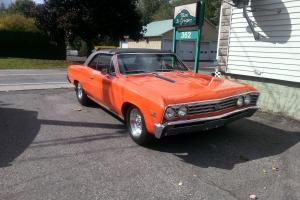 Chevrolet : Chevelle super sport