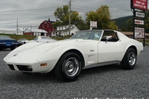 Chevrolet : Corvette Leather