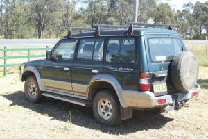 Mitsubishi Pajero GLS LWB 4x4 1995 4D Wagon 4 SP Automatic 4x4 3 5L in Barmedman, NSW