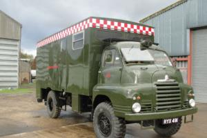 1957 BEDFORD A.F.S ARMY FIRE SERVICE MOBILE HEADQUARTERS - FULL RESTORED -