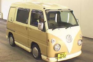 SUBARU SAMBAR AUTO VW SAMBA CAMPER REPLICA * MINI RETRO CAMPER *ONLY 70000 MILES Photo