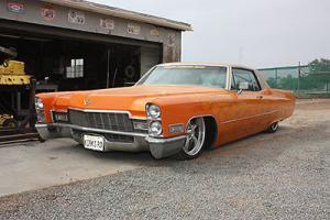 Cadillac : DeVille kustom cruiser