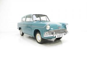 A Spectacular Ford Anglia 105E Deluxe with Just Two Owners from New