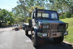 Mercedes Unimog U1700 in Urangan, QLD