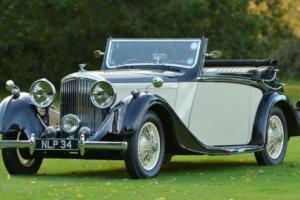 1936 Derby Bentley 4.25 litre 3 position drophead by Hooper. Photo