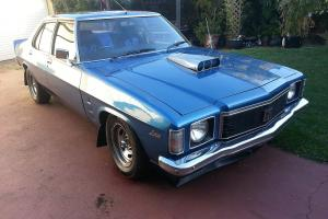 1975 GTS Holden Monaro Four 4 Door Deville Blue 308 4 Speed Manual 3 Speed Auto in Toowoomba, QLD Photo