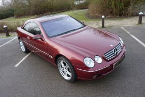MERCEDES CL600 V12 - 2000 - 44K FROM NEW FSH RECENT FULL SERVICE