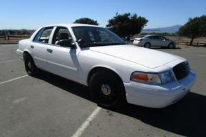 American 2005 Ford Crown Victoria Police Interceptor P71 4.6 V8
