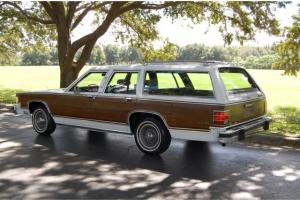 Mercury : Grand Marquis 4dr Wagon Co Photo