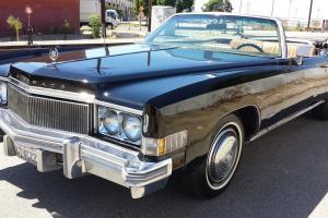 Cadillac : Eldorado Classic Convertible Coupe