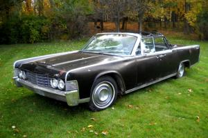 Lincoln : Continental Convertible