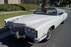 Cadillac : Eldorado 500c.i. 365HP V8 CONVERTIBLE WITH 63K ORIG MILES!