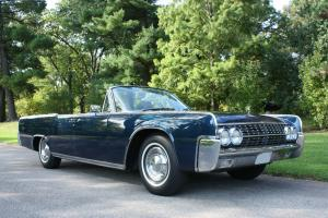 Lincoln : Continental Convertible Suicide Doors
