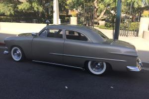 Custom chopped classic street rod muscle car