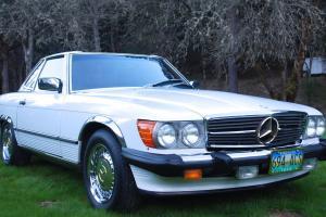 Mercedes-Benz : 500-Series 560SL